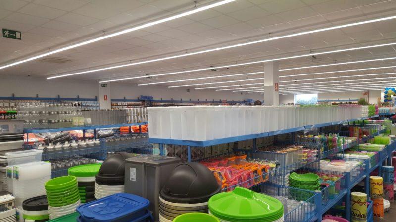 Construcción de bazar en Chiclana
