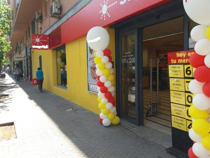 Reforma integral en supermercado de Sevilla